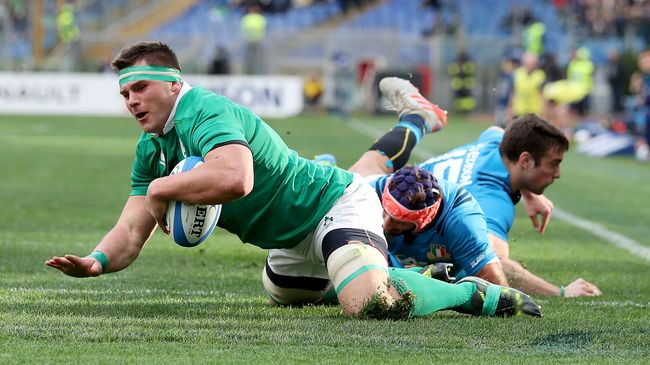 Ireland Notch Nine Tries In Rome Rout
