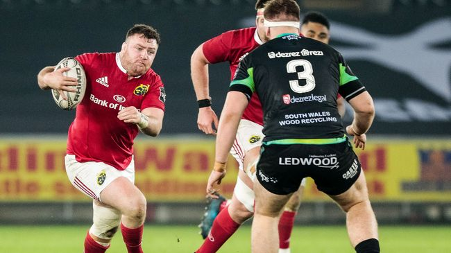 Kilcoyne's Late Try Gets Resilient Munster Over The Line