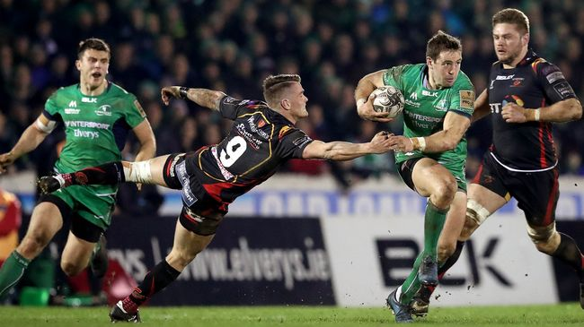 Connacht Defeat Dragons In Dour Battle