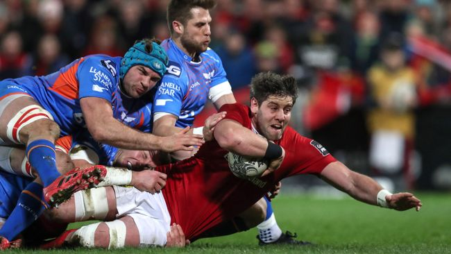 Munster's Winning Run Ended By Scarlets' Classy Comeback