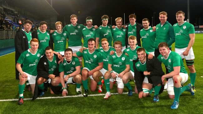 Three-Try First Half Inspires Ireland U-20s' Third Win