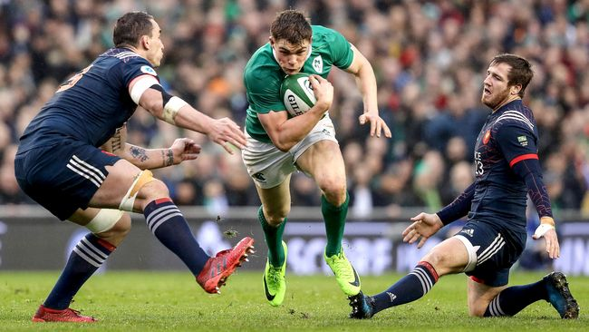 Ireland Pass French Test To Stay In Title Contention
