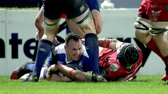 Leinster Stun Scarlets With Five-Try Second Half Salvo