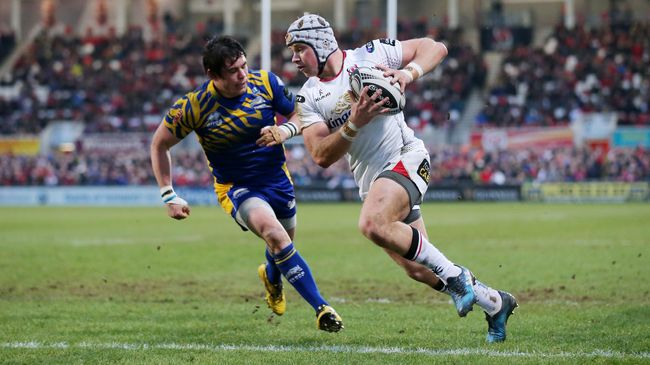 Ulster Return To Top Four After Zebre Rout