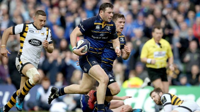 Dominant First Half Propels Leinster Into Europe's Last-Four