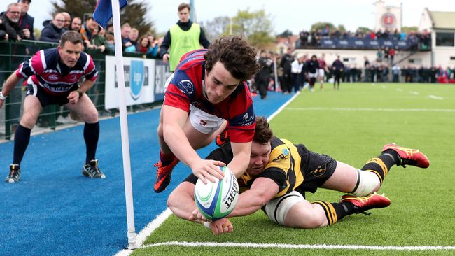 Six-Try Clontarf Set Up Repeat Of Last Year's League Final