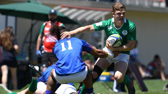 Ireland U-20s Get Back On Track With Impressive Eight-Try Victory