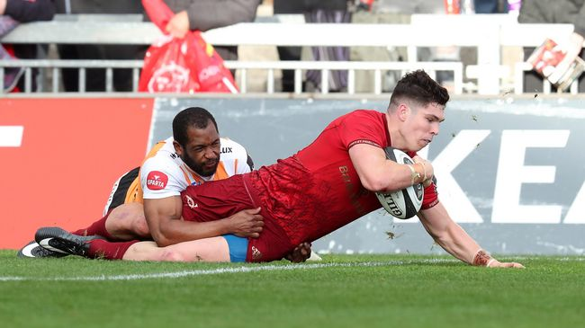 Alex Wootton was in inspired scoring form for Munster