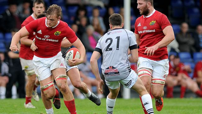 Three-Try Second Half Steers Munster 'A' Home