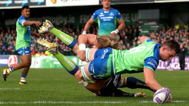 Two Tries Prove Enough As Connacht Win Top Of The Table Clash