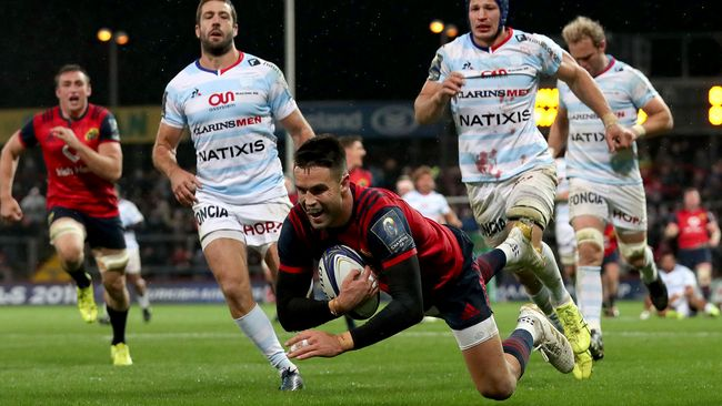 Murray And Conway Tries Guide Munster To Gritty Victory
