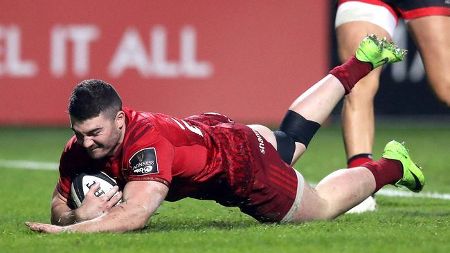 Seven-Try Munster Put Dragons To The Sword