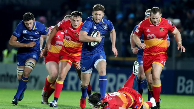 Brilliant Byrne Leads The Way In Eight-Try Leinster Rout