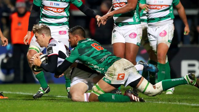 Trimble's Late Try Rescues Win For Off-Colour Ulster