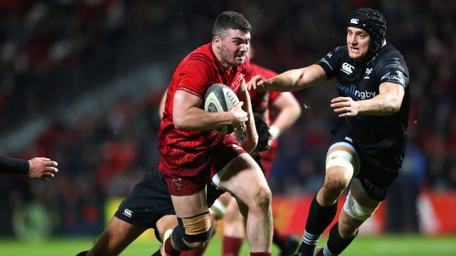 Young Backs Impress Van Graan As Munster Run Five Tries Past Ospreys