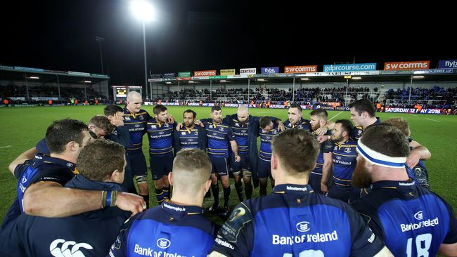 Conan Try Clinches Bruising Win As Leinster Go Six Points Clear