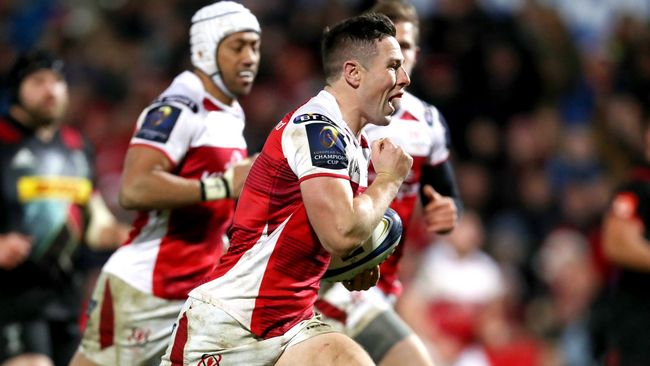 Cooney Tallies Up 27 Points As Ulster Claim 'Quins Double