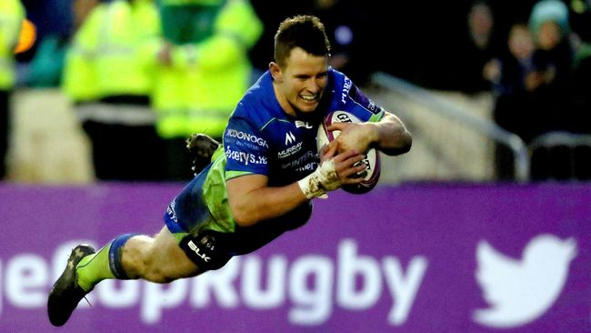 Four-Try Healy In Electric Form As Connacht Hammer Brive
