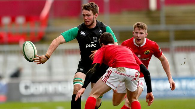 Sullivan Brace Seals Thomond Win For Ireland Under-20s
