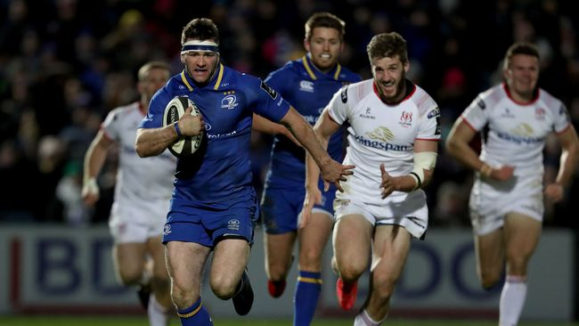 McFadden And Larmour Bag Braces As Leinster Hit Ulster For Six