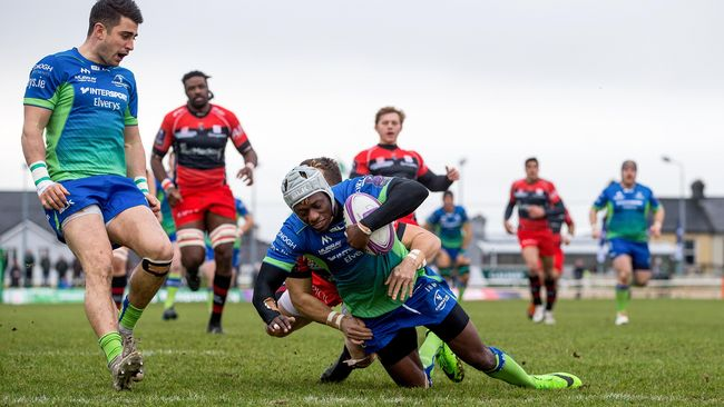 Adeolokun Hat-Trick Tees Up Home Quarter-Final For Connacht