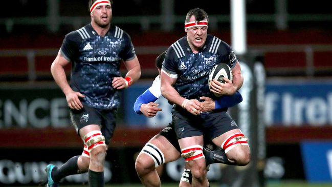 Robin Copeland leads the charge for Munster