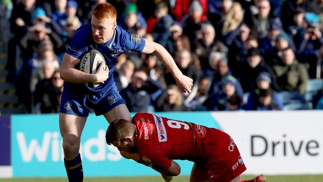 Lowe-Inspired Leinster Get The Job Done Against Resilient Scarlets