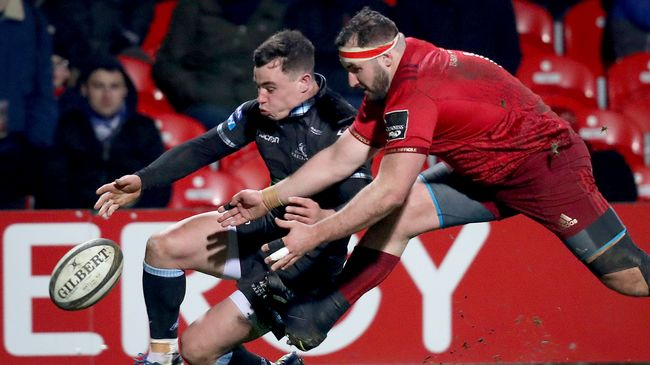 Two-Try Munster Win Top Of The Table Clash With Glasgow