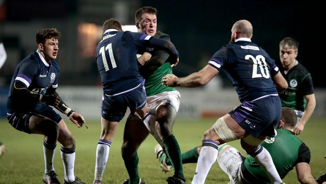 Scotland got the better of Ireland in Galashiels