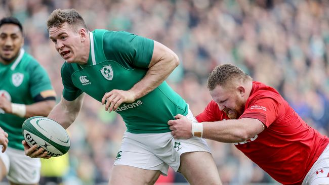 Ireland Strengthen Title Challenge With Stirring Win Over Wales
