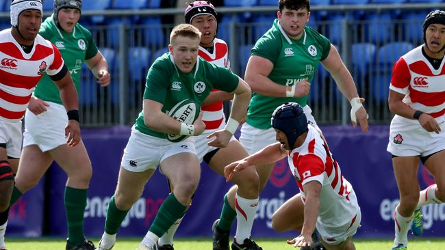 Ireland Under-19s Kick Off Campaign With Six-Try Victory