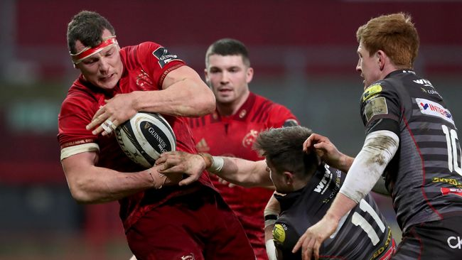 Copeland Shines Again As Munster Finish Strongly Against Scarlets