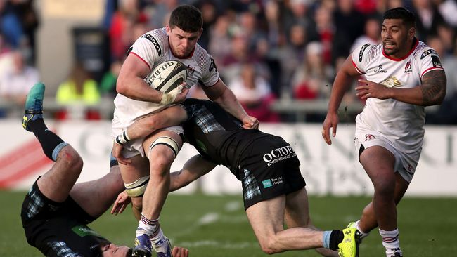 Timoney Brace Keeps Ulster In PRO14 Play-Off Contention