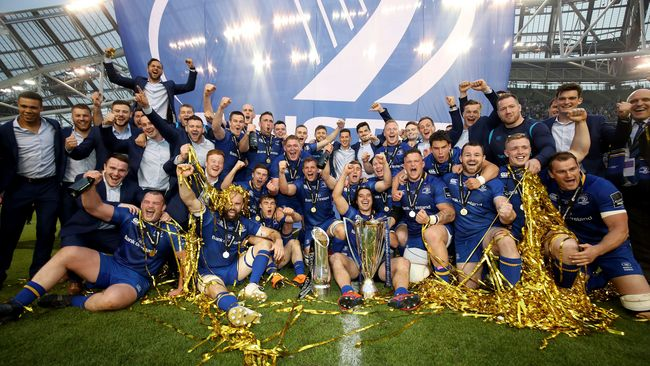 Leinster Complete Season To Remember As Double Champions