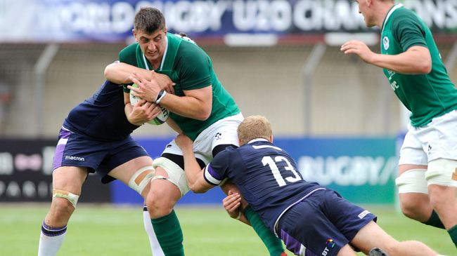 Defensive Lapses Cost Ireland U-20s As Scotland Enjoy Six-Try Success