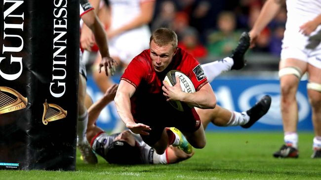 Relentless Munster Rout Ulster With Record Nine-Try Haul