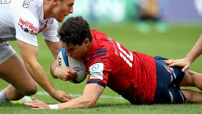 Carbery Leads Bonus Point-Winning Munster To Top Of Pool