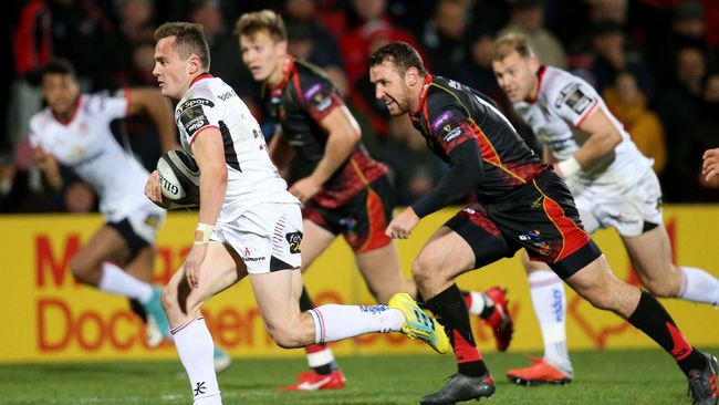 Lowry Grabs First Senior Try In Ulster's Double-Scores Victory