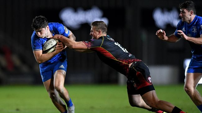 Jimmy O'Brien started at outside centre for Leinster in Newport