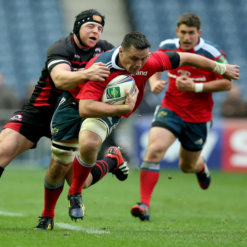 Munster back rower James Coughlan