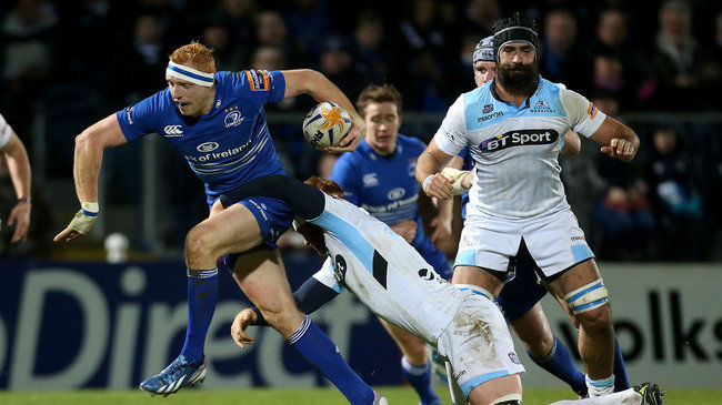 Man-of-the-match Darragh Fanning attacks for Leinster