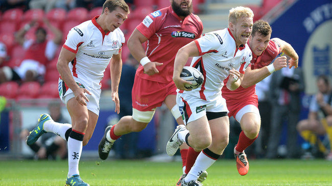 Ulster Earn Draw With Scarlets In Eight-Try Thriller