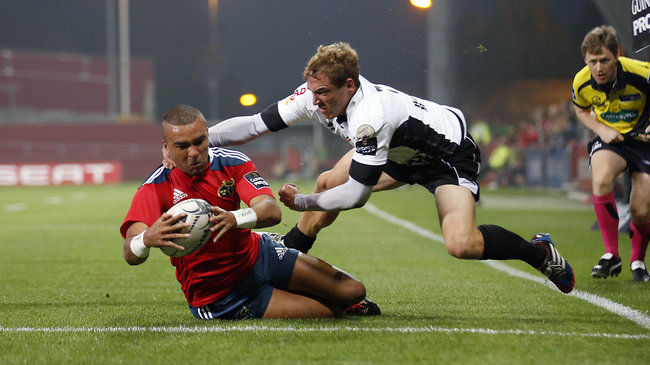 Zebo Hat-Trick Sees Munster Motor To Bonus Point Win