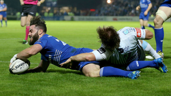McGraths On The Mark For Four-Try Leinster