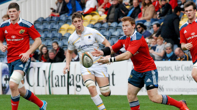 Munster 'A' Denied By Late Worcester Try