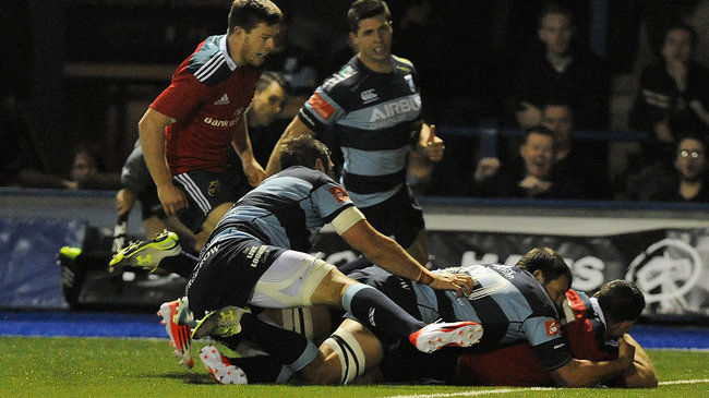 Late Butler Try Sees Munster Battle Past Blues