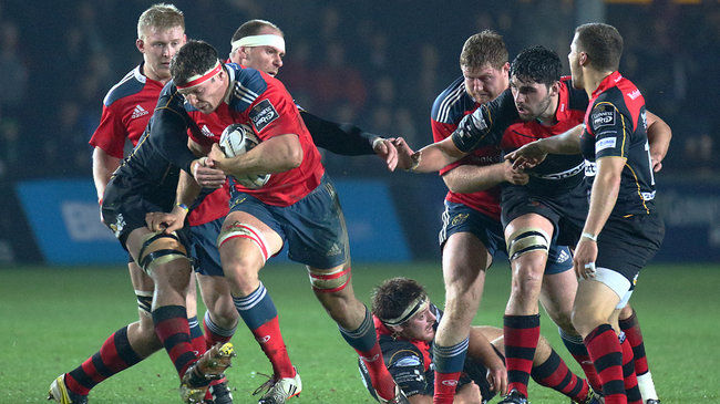 Munster Make It Back-To-Back Wins In Wales