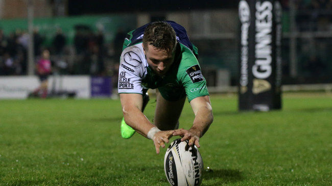Five-Try Connacht Finish With A Flourish