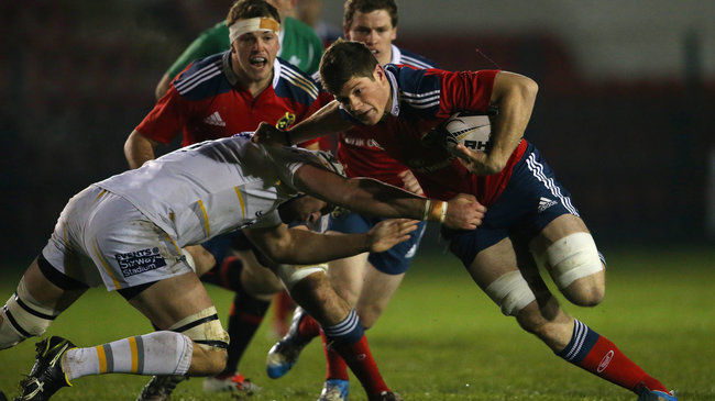 Warriors Win Out Against Munster 'A'