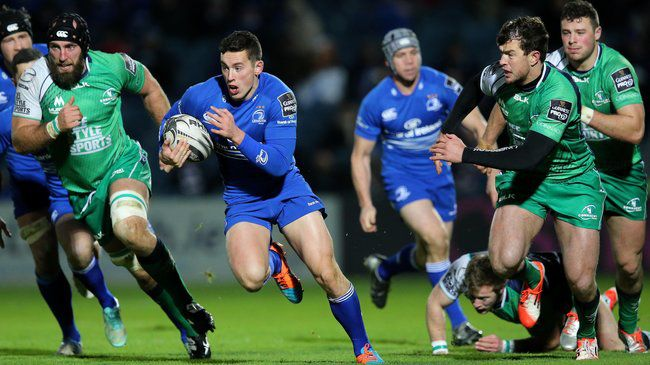 Two-Try Leinster Claim The Derby Spoils